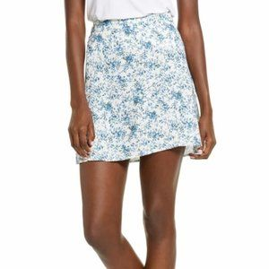 NWT Floral Ditzy Print Skater Skirt BP. Nordstrom